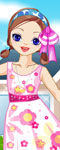 Girl Next Door Dress Up Game