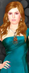 Isla Fisher Dress Up & Make Up