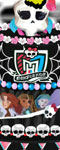 Monster High Wedding Cake Decor