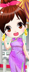 Cute Girl Cheongsam