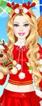 Barbie Santa Princess Dress Up
