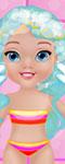 Baby Frozen Bathing