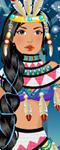 Emo Pocahontas Dress up
