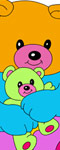 Friendly Bears Coloring