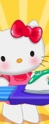 Hello Kitty Laundry Day