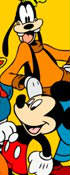 Micky Goofy Donald Halloween Online Coloring