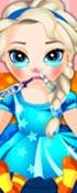 Baby Elsa Flu Problems