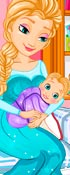 Frozen Elsa Gives Birth