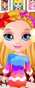 Baby Barbie Winter Braids