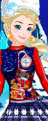 Elsa's Ugly Christmas Sweater