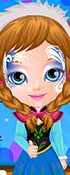 Baby Bonnie Frozen Face Painting