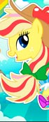 Applejack Rainbow Power Style