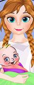 Frozen Anna Gives Birth