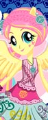 Fluttershy Rocking Hairstyle