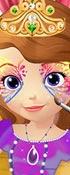 Princess Sofia Face Art