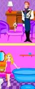 Frozen Bonnie Doll House Decor