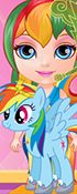 Baby Bonnie Little Pony
