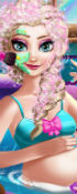 Pregnant Elsa Spa