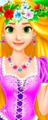 Rapunzel's Beach Day