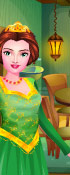 Princess Fiona Grooms The Room