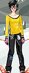 Skiing Girl Dress Up