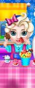 Frozen Elsa Baby Caring Slacking