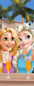 Ella And Rapunzel Selfie Time