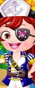 Baby Hazel Pirate Dress Up