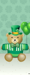 St Patricks Bear
