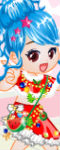 Lovely Christmas Doll Dress Up