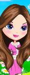Cherry Blossom Girl Makeup