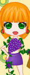 Lovely Fruit Girl