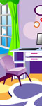 Colorful Study Room