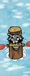 Cool Racoon Boating