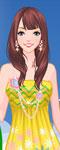 Fashion Girl At Karon Beach