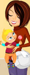 Baby Time Dress Up Game