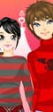 Snow Couple Dress Up Game
