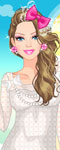 Barbie Lace Fashion Dress Up