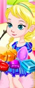 Baby Elsa Candy Fun