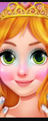 Blonde Princess Jelly Nails Spa