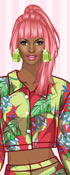Bright Colors Dress Up Game
