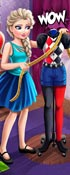 Elsa Harley Quinn Cosplay