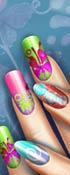 Floral Real Life Manicure
