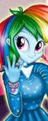 Manicure For Rainbow Dash