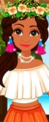 Moana Dress Up Game 2