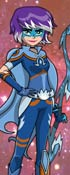 Mysticons Zarya Moonwolf