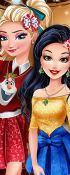 Princesses In Christmasland